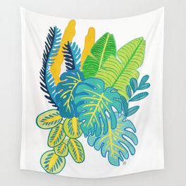 Green selva Wall Tapestry