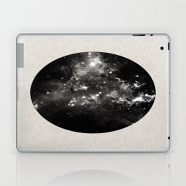 God's Window - Black And White Space Painting Laptop & iPad Skin
