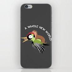 A Whole New World! iPhone & iPod Skin