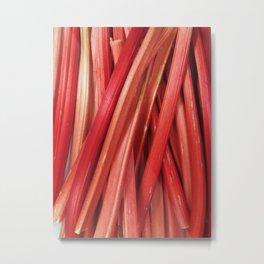 Rhubarb Metal Print