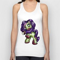 my little pony Tank Tops featuring Zombie My Little Pony by Hungry Designs
