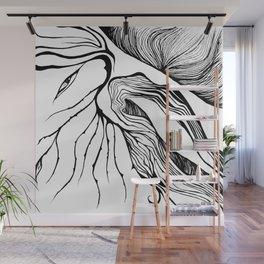 Speaking Wood Wall Mural