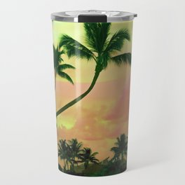 Bora Bora Tahiti Sunset 2 Travel Mug