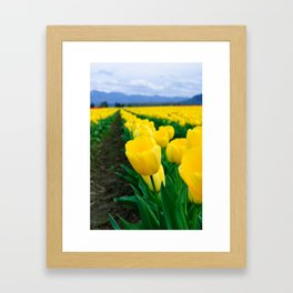 Standing from the crowd Framed Art Print