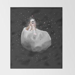 Lost in a Space / Phobosah Throw Blanket