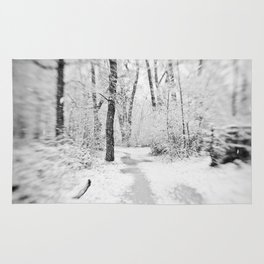 Drawn to Winter Rug