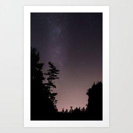 September Sky  Art Print