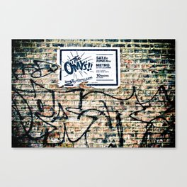 The Omys Canvas Print