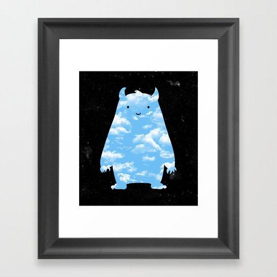 Mr. Sky Framed Art Print