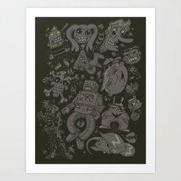 Hodge Podge Art Print
