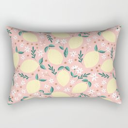 Pink Lemonade Rectangular Pillow