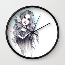 Necklace 01 Wall Clock