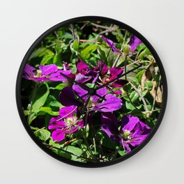 Lingering Effects Wall Clock