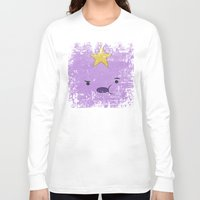 lumpy space princess Long Sleeve T-shirts featuring Lumpy Space Princess by Some_Designs
