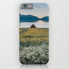 Nordic Summer - Landscape and Nature Photography iPhone Case