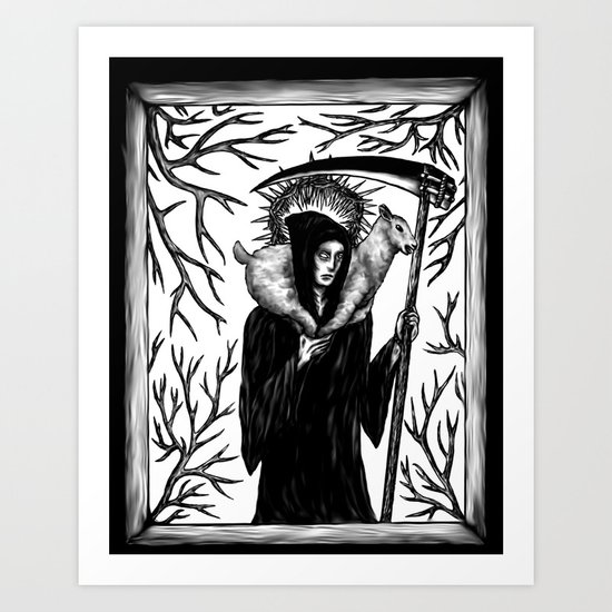 Agnus Dei  Art Print