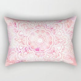 Queen Starring of Mandalas-Rose Rectangular Pillow