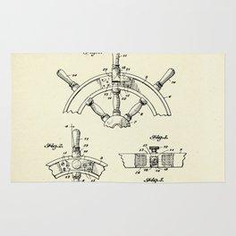 Steering Wheel-1944 Rug
