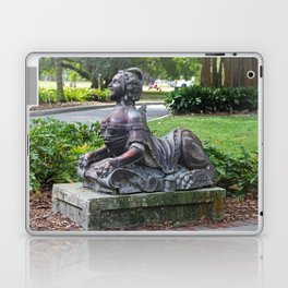 Ringling Rose Garden Statuary III Laptop & iPad Skin