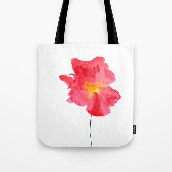 Dream big || watercolor flower Tote Bag