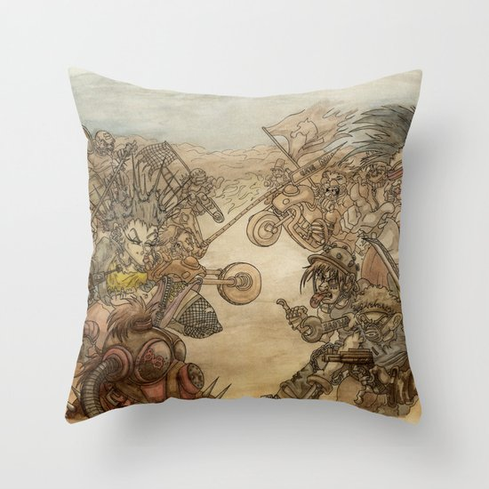 8x8 Throw Pillow