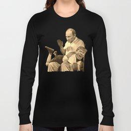 Putin spanking Trump Long Sleeve T-shirt
