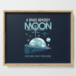 Space Odyssey Serving Tray
