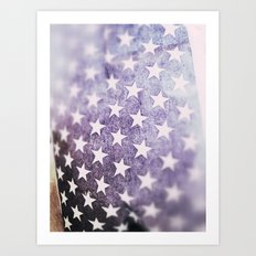 American Stars.! Art Print
