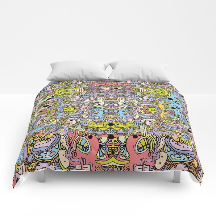 Cartooniverse Comforters