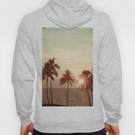 Sunset at Mauna Kea Beach, Hawaii Mint Hoody