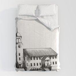 Iglesia con patas / Church with legs Comforters