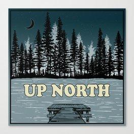 Up North at Night Canvas Print