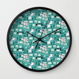 BMO patterns Wall Clock
