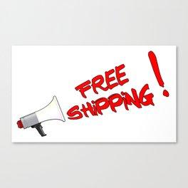 Free Shipping Megaphone Canvas Print