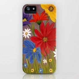 Wildflower-2 iPhone Case