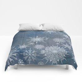 Snowflake Bouquet Comforters
