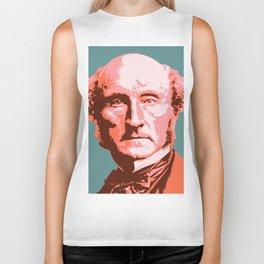 John Stuart Mill Biker Tank