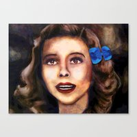 dorothy Canvas Prints featuring Dorothy by Amanda Lee