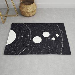 Stellarum Ordo Solaris: A map of our Solar system Rug