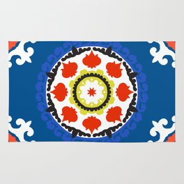 Bold and bright beauty of suzani patterns ver.5 Rug