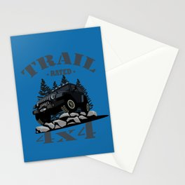 Trail Rated (Black) Stationery Cards