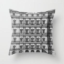 Windows and Columns Throw Pillow