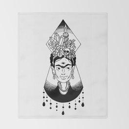 Mystic Frida Throw Blanket