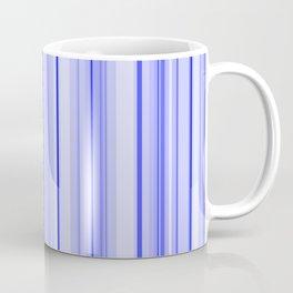 Blue Vertical Stripe Coffee Mug