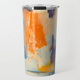 Tell me, what do you see in this picture? Travel Mug