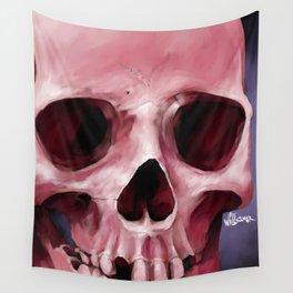 Skull 8 Wall Tapestry