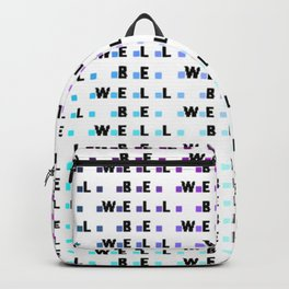 Be Well Ombre Squares Backpack