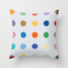 Lego: Spots Throw Pillow