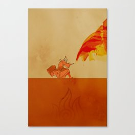 Avatar Roku Canvas Print