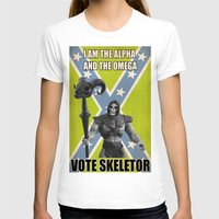 skeletor T-shirts featuring Vote Skeletor by Itomi Bhaa